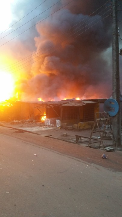 Video Of Gas Plant Explosion In Baruwa, Lagos State