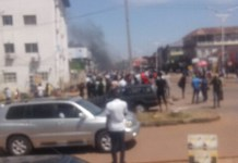 Video Of Gunshots In Jos As Police And Protesters Clash