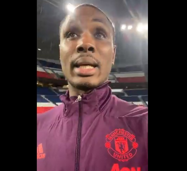 Video Of Manchester United Striker Odion Ighalo Blasting Nigerian Government-You Are A Shame To The World