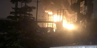 Video Of Petrol Tanker Explosion And Stationary Trucks In Mile 2 Lagos