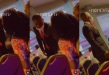 Video Of The Moment An Usher Tried To Seize A Lady's Phone In Church