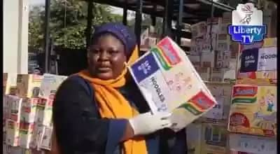 Video of Benue COVID-19 Palliatives Sold In Kano Markets