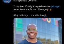 Young Nigerian man Angel Onuoha becomes associate manager at Google
