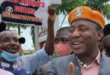 Bounty Placed On My Head To Be Arrested Or Murdered - Omoyele Sowore
