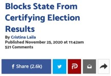 Commonwealth Judge Patricia McCullough Stops State From Certifying Election Results In Pennsylvania