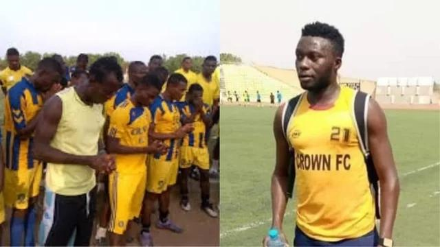 Crown Football Club Player Yusuf Usman Usein Slumps And Dies While Training In Ogbomoso Oyo State