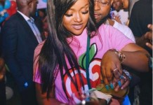 Davido's Fiancee Chioma Gifts Davido A Customized Necklace Of Himself And His Late Mother