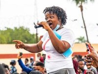 EndSARS Frontline Protester Rinuola Mocks CBN After It Secured A Court Order To Freeze Her Account