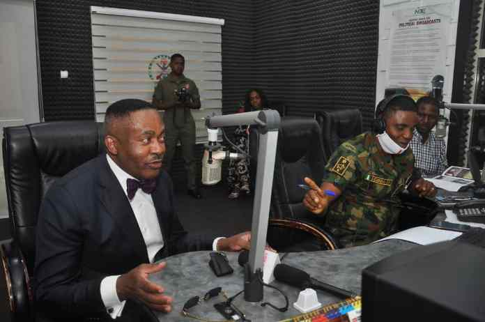 Nigeria US Medical Doctor Dr Godwin Maduka Speaks At Armed Forces Radio And Gets Military Honour