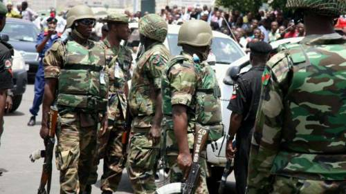 Nigerian Soldiers Arrests Voice Of America Journalist Grace Abdu For Interviewing Resident Of Oyigbo In Rivers State
