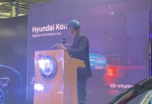 Photos And Video Of Governor Sanwo-Olu Unveiling First Electric Car In Nigeria