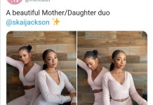 Photos Of Mother And Daughter Of An American YouTuber And Actress Skai Jackson