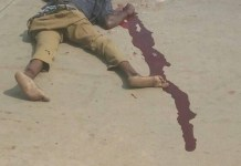 Photos Of Truck Driver And Conductor Lynched In Ebonyi By Youths For Crushing School Children