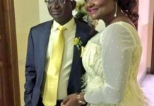 Senator Victor Ndoma Egba's Wife Dies In A Ghastly Motor Accident