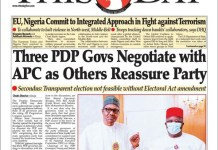 Three Peoples Democratic Party PDP Governors Negotiate With APC For Defection