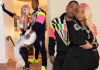 U.S singer Nicki Minaj shares loved-up photos with her husband Kenneth Petty
