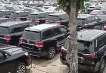 Video And Photos Of SUVs Cars For Senators And House Of Rep Members Ready For Distribution