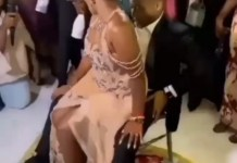 Video Of A Bride Whining For Groom And Got Cheered By People