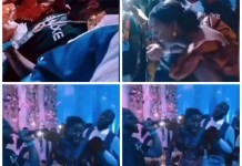 Video Of Davido Surprise Performance In A Wedding Reception Of A couple In Ghana, Giving His Hit Songs