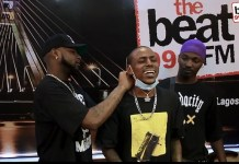 Video Of Davido's Surprise Visit To Beat FM