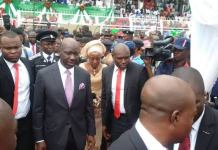 Video Of Governor Obaseki And Deputy Shaibu Sworn-in For Second Term