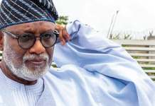 Video Of Ondo State governor Rotimi Akeredolu Saying Nothing Wrong In Freezing EndSARS Protesters' Accounts