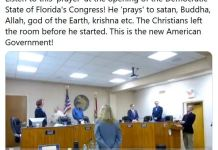 Video Of The Weird Prayers At Democratic State Of Florida's Congress - FFK Reacts He prays to satan Buddha Allah god of the Earth krishna