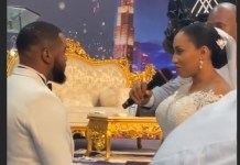 Video Of Williams Uchemba And Brunella Oscar White Wedding