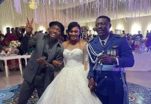 Video of Nigerian artist Timi Dakolo making a surprise appearances at random weddings in Abuja