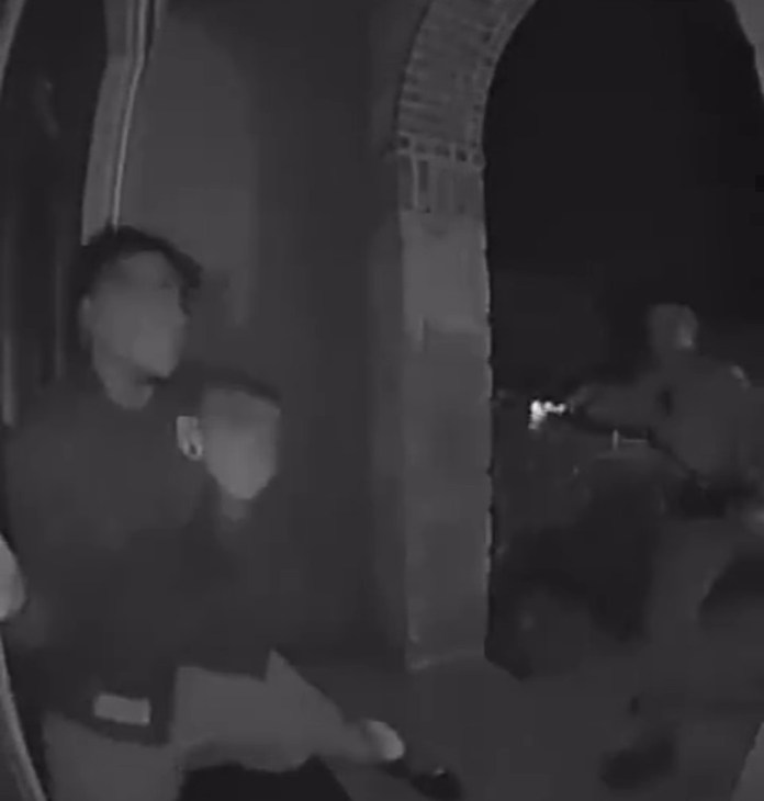 Video of the moment cops tased unarmed black teen as he screamed for his daddy