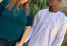 A beautiful 46-year-old American woman, Janine Set To Marry Her 23-year-old Nigerian Lover Suleiman