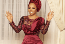 If You Know My Husband Tell Him He Is So Lucky For Having Me - Toke Makinwa Tweets