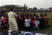 Over 500 Youths In Rivers State Renounce Cultism Surrender Weapons And Charms To Police