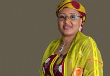 Video Of Aliyu Abdullahi Aisha Buhari's Aide Refusing To Disclose Her Whereabouts