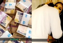 Video Of Bobrisky Showing The 15 Million Naira Cash He Made From One Night Stand With an Unknown Man