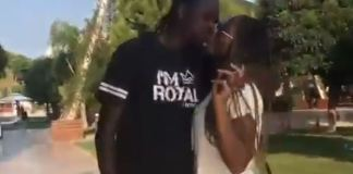 Video Of Kanu Nwankwo Kissing His Wife Amara And Reacting To Osaze's Allegation