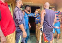 Brothers Visit Akara Seller Woman Who Is Over 100 Years That Gave Them Free Akara Everyday On Way To School