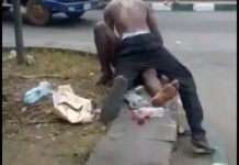 Photos Of A Man Having Sex With A Mad Woman Broad Daylight In Akwa Ibom