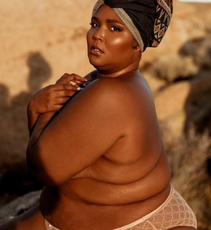 Singer Lizzo Shares Nude Photo Of Her Wearing Only Her Panties