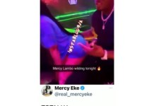 Video Of A Man Rocking bbnaija Mercy Eke At A Nightclub