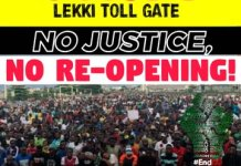 Nigerian Youths To Protest Over Reopening Of Lekki Tollgate - #OccupyLekkiTollGate