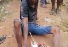 Video Of A 24-Year-Old Bike Man Onyeka Accused Of Using Jazz To Destroy Lives In Anambra