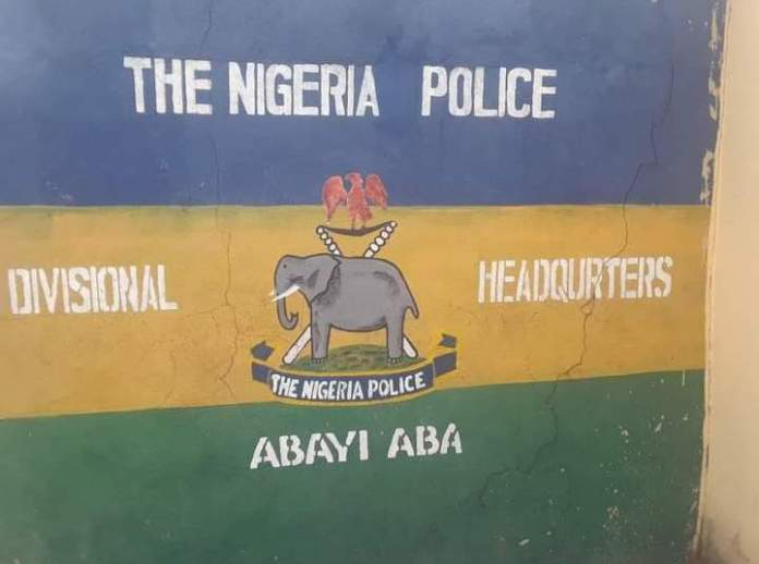 Video Of Abayi Police Station Set Ablaze In Aba Abia State