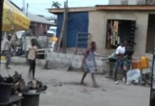 Video Of Rival Cult Gangs Clash In Ijeshatedo Area Of Surulere
