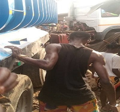 A Woman Crushed To Death By Truck Inside Her Shop In Abeokuta
