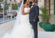 A lady Jania Aiko who had sex with a man she met on their first date celebrates their wedding