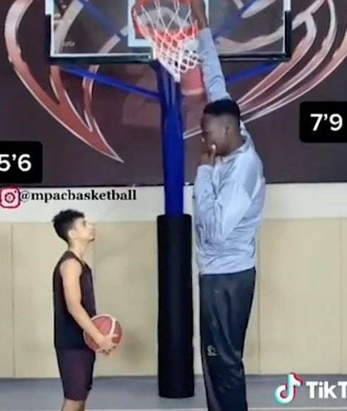 Abiodun Adegoke a Nigerian basketball player to become tallest player ever in NBA history