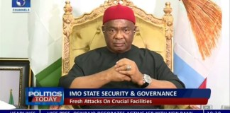 Video Of Imo Governor Uzodimma Blaming Known Imo Politicians Over Owerri Prison Break