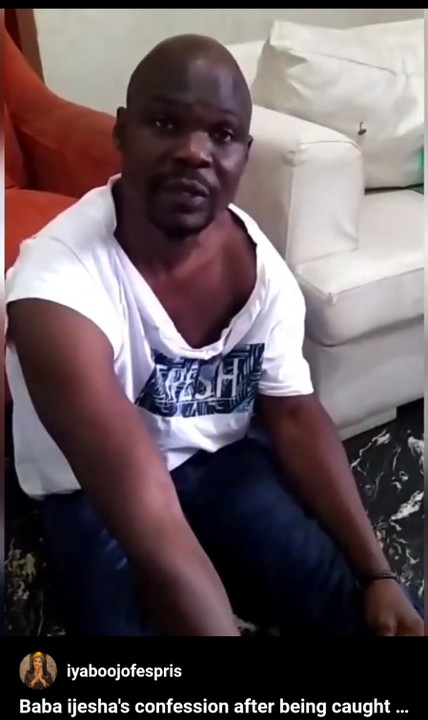 Censored Video Of Baba Ijesha Molesting The 14-Year-Old Girl Released
