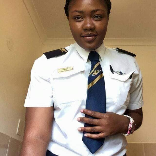 The Female Airpeace Pilot Who Landed An Airplane In Anambra